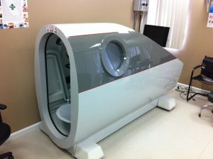 HYPERBARIC CHAMBER AND OZONE THERAPY