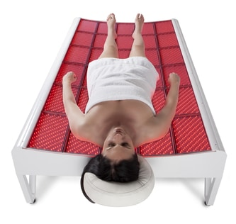 Woman on the Led Bed