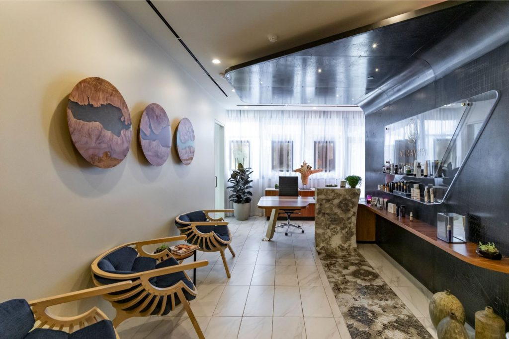 AuraSpa Healing Center - Reception Area